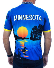Minnesota Cycling Jersey - Free Spirit Bike Jerseys