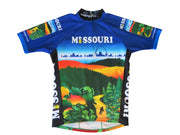 Missouri Cycling Jersey - Free Spirit Bike Jerseys