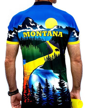 Montana Cycling Jersey - Free Spirit Bike Jerseys
