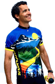 Montana Cycling Jersey - Free Spirit Wear Bike Jerseys