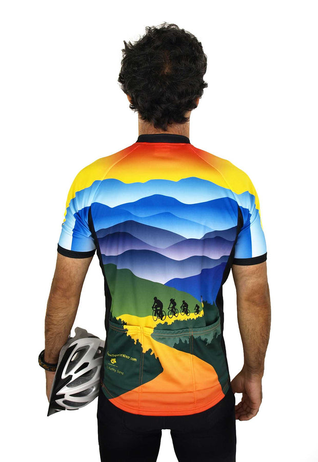 Mountain Cycling Jersey - Wordless - Free Spirit Bike Jerseys