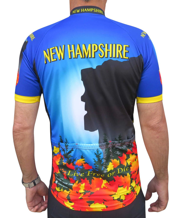 New Hampshire Cycling Jersey - Free Spirit Bike Jerseys