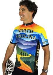 North Carolina Cycling Jersey - Free Spirit Bike Jerseys