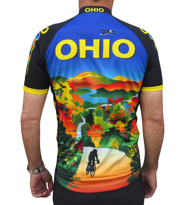 Ohio Cycling Jersey - Free Spirit Wear Bike Jerseys