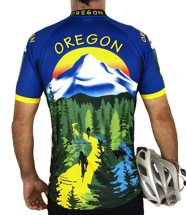 Oregon Cycling Jersey - Free Spirit Bike Jerseys