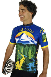 Oregon Cycling Jersey - Free Spirit Wear Bike Jerseys