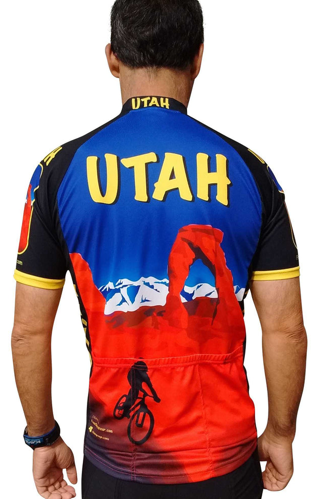 Utah Cycling Jersey - Free Spirit Bike Jerseys