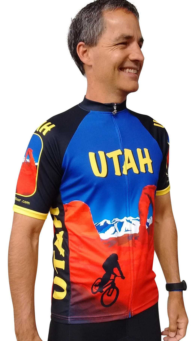 Utah Cycling Jersey - Free Spirit Wear Bike Jerseys