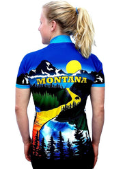 Womens Montana Bike Jersey - Free Spirit Bike Jerseys