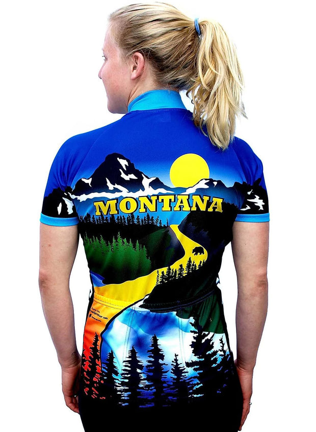 Womens Montana Bike Jersey - Free Spirit Wear Bike Jerseys