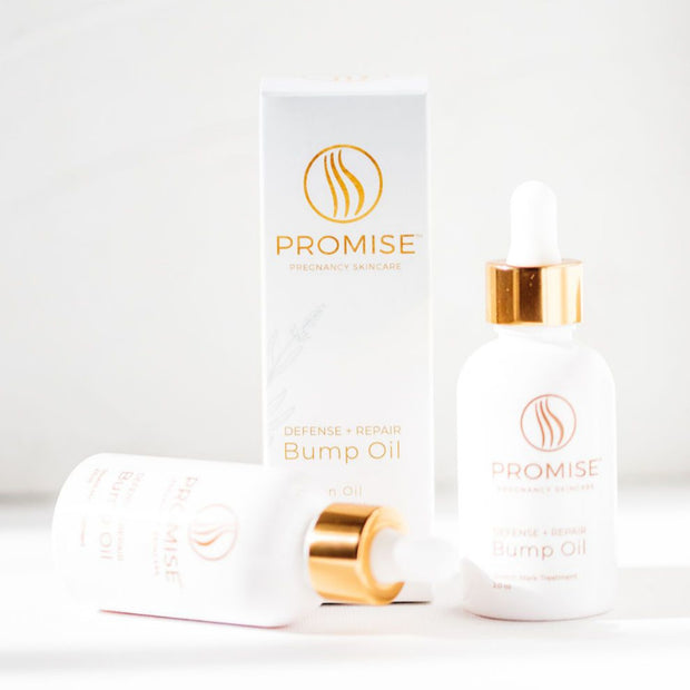 Promise Bump Oil for Stretch Mark Defense & Repair