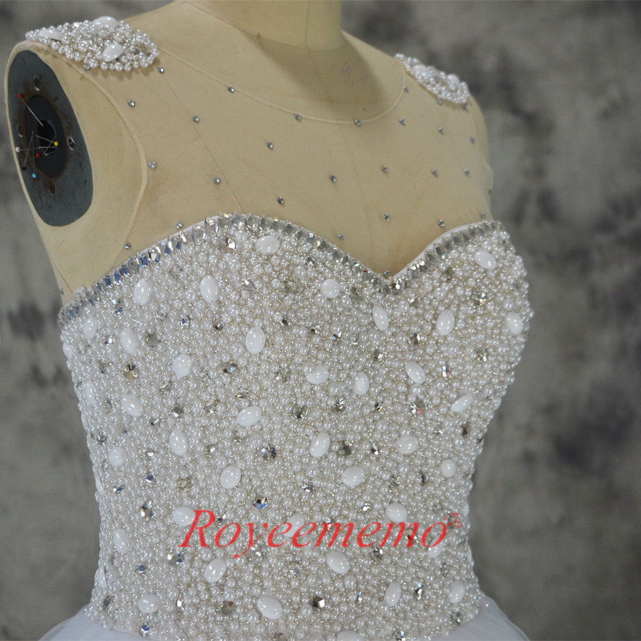 2019 New Design full beading beading top Wedding Dresses vestidos de novia Bridal gown custom made factory ball gown