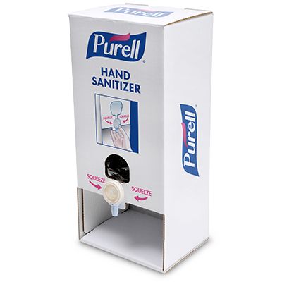 PURELL Table Top Stand with Advanced Hand Sanitizer Gel. 2156-02-TTS