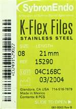 K-FLEX FILES #20 21mm - 6pk