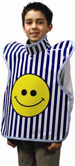 CHILD'S PROTECTALL APRON #27-Childs-Blue - Each