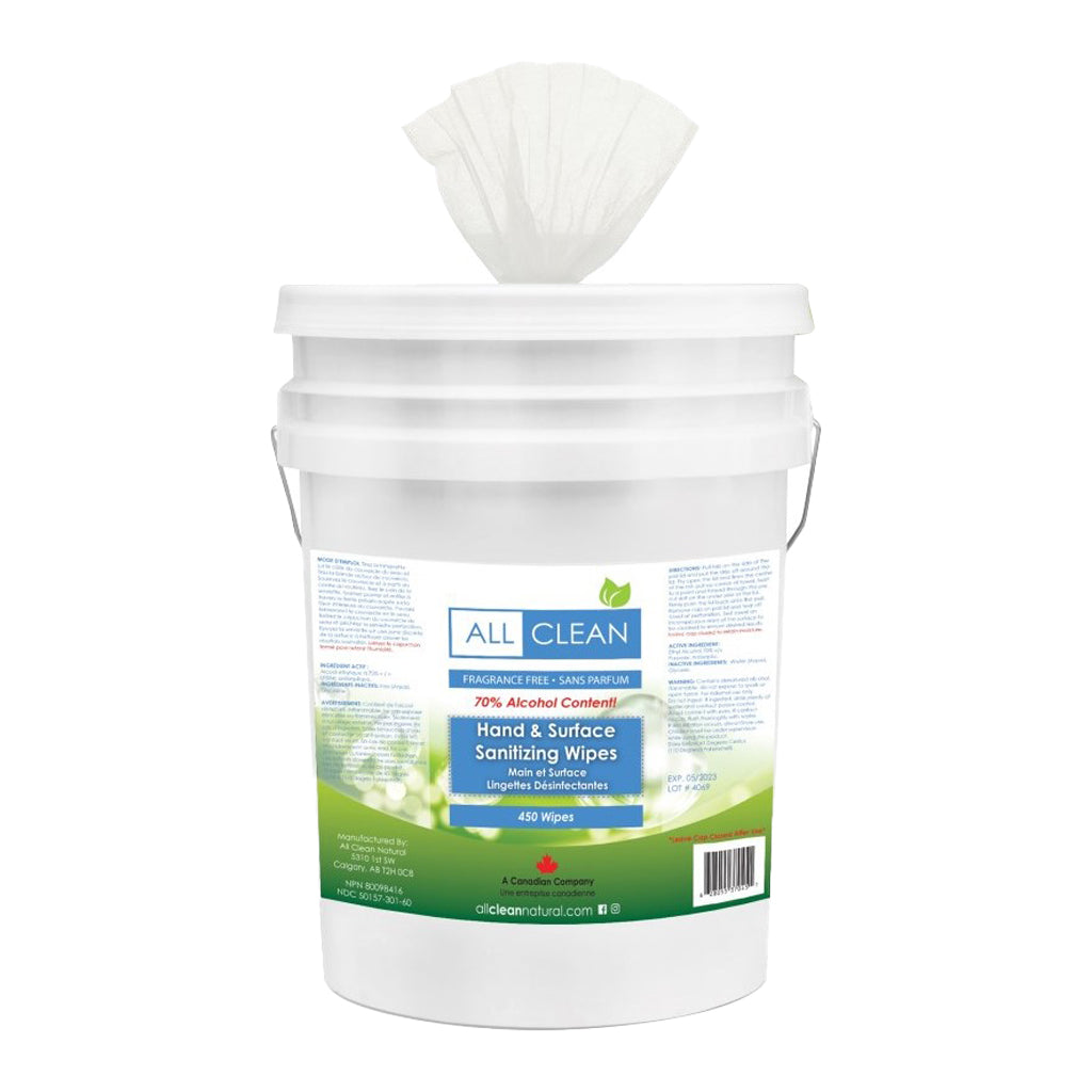 All Clean Natural Sanitizing Wipes