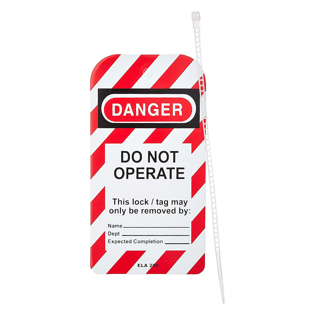 Lock out Tag , Do Not Operate 25/Pack