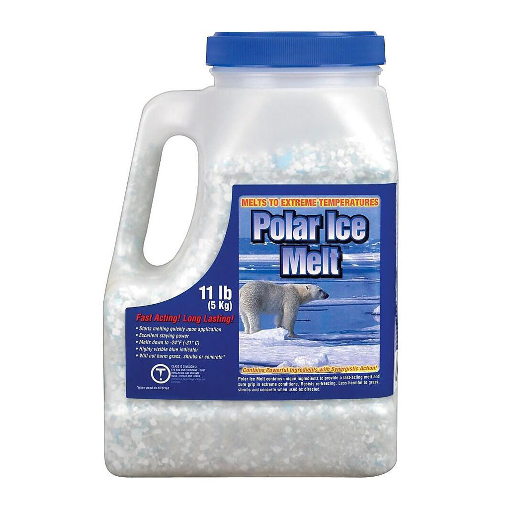 Polar Ice 5kg Ice Melt Road Salt Shaker Bottle