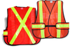 Traffic Vest High-Viz Mesh 5 Pt Tear Away - TV-7N
