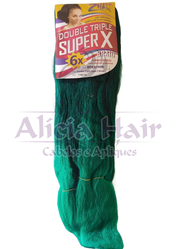 Jumbo Double Triple Super X 400 gramas - Alícia Hair - COR T1B/12