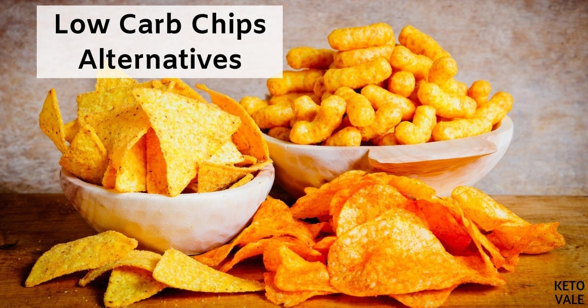 Low carb chip substitutes