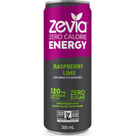 Zevia No Sugar Added Energy Drinks