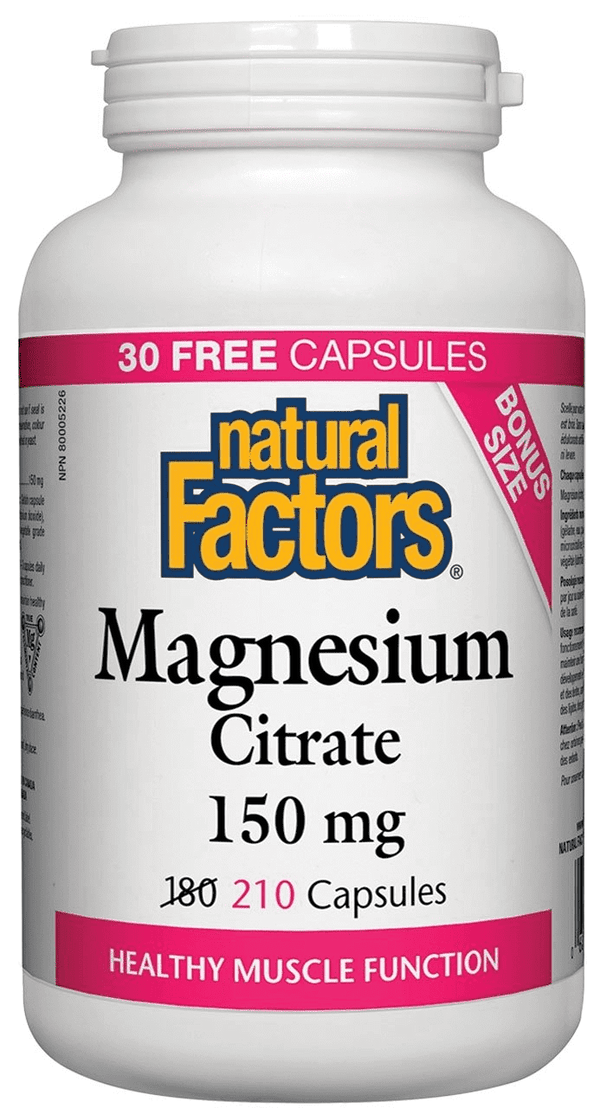 Magnesium Citrate - Bonus Bottle