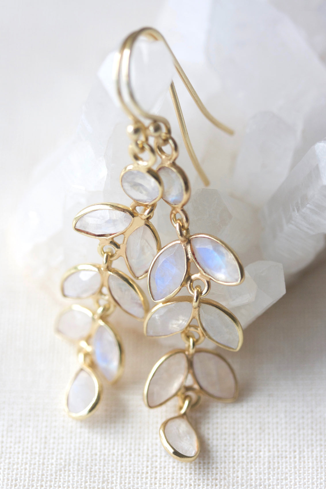 Flower Child Earrings - Gold