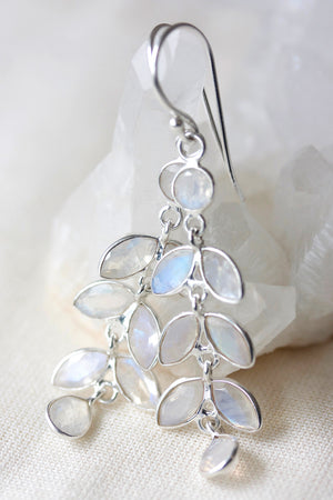 Flower Child Earrings - Silver