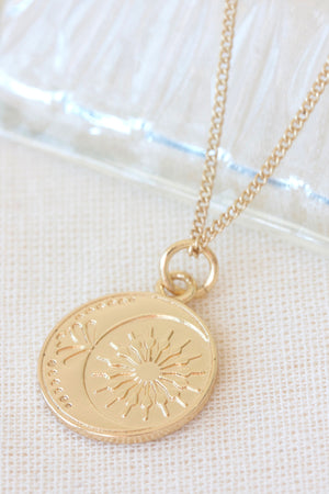 Gold Friendship Necklace