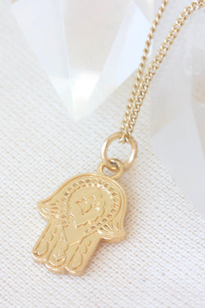 Gold Protection Necklace