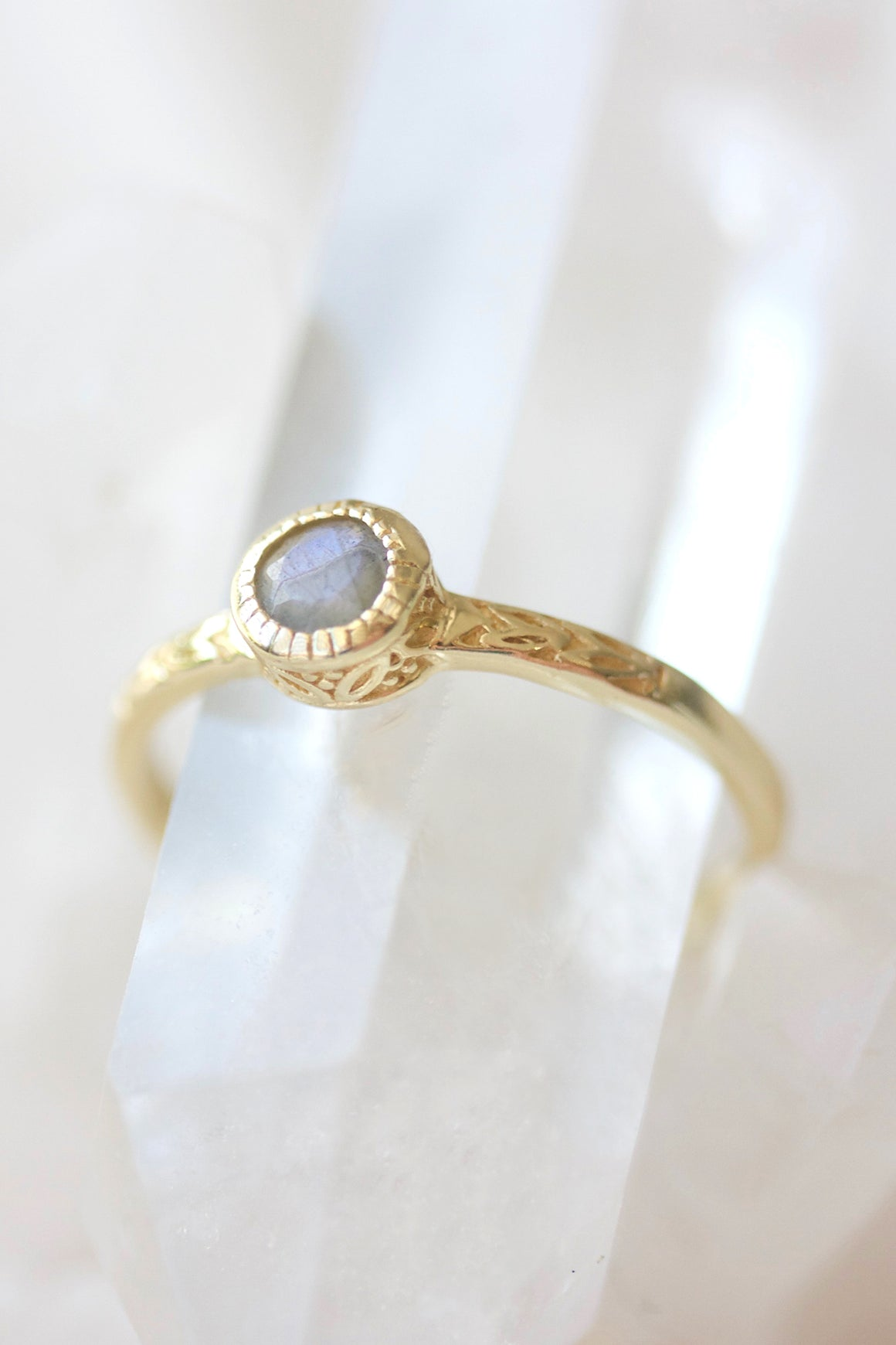 Cornflower Ring - Gold