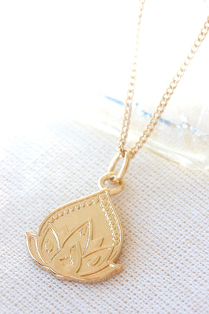 Gold New Beginnings Necklace
