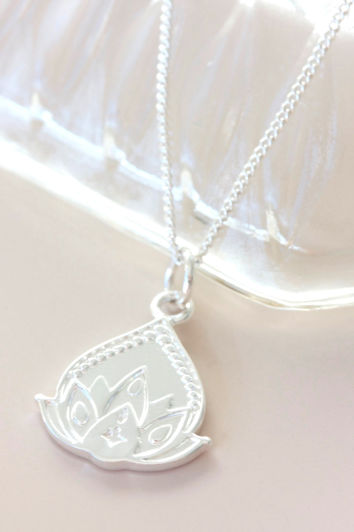 Silver New Beginnings Necklace