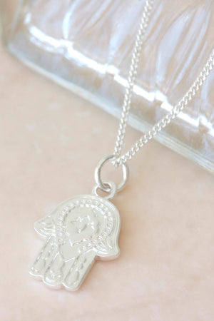 Silver Protection Necklace