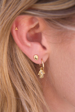 Gold Multiple Piercing earrigs