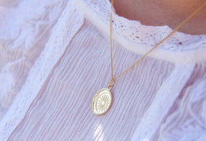Gold Pendant Necklace made in New Zealand
