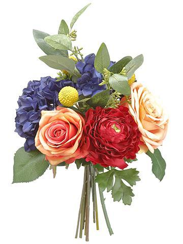 Artificial Flower Bouquet in Mixed Colors