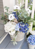 Artificial Hydrangea in Blue