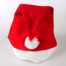 Load image into Gallery viewer, 2pcs Adult Unisex Xmas Red Caps Santa Novelty Hat