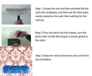 (Buy Two Free Shipping)--Wall printing roller mould