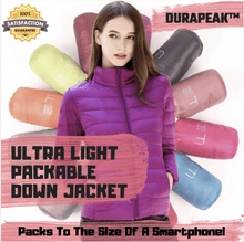 Load image into Gallery viewer, DuraPeak™ Ultra Light Packable Down Jacket