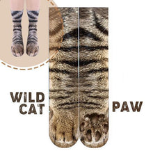 Load image into Gallery viewer, Flurry 3D Animal Paw Socks