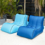 Portable air sofa outdoor inflatable bed moisture proof water inflatable COUCH hooomo