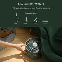 Youpin EDON Folding Electric Purification Fan Air Cooling Fan Humidification Remote Control 5 Wind Speed Telescopic Charging Fan