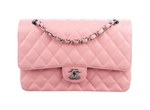 Load image into Gallery viewer, lenvie-de-luxe - CHANEL Classic Medium Double Flap Bag in Pale Pink - Chanel - Handbags