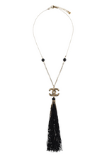 Load image into Gallery viewer, CHANEL Paris-Shanghai Tassel Pendant Necklace
