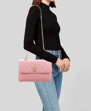 Load image into Gallery viewer, CHANEL Trendy 2019 Medium Top Handle Bag