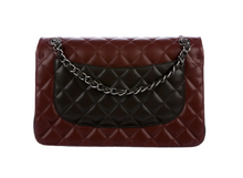 Load image into Gallery viewer, lenvie-de-luxe - Chanel Classic Tri-Tone Jumbo Double Flap Bag - Chanel - Handbags
