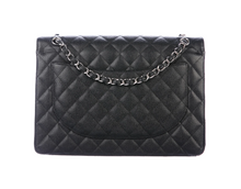 Load image into Gallery viewer, CHANEL Classic Black Maxi Double Flap Bag